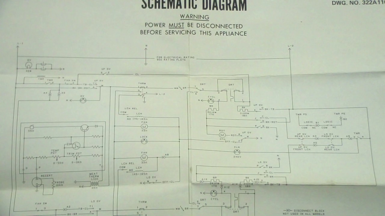 hight resolution of ge oven schematic and wiring diagram youtubege oven schematic and wiring diagram