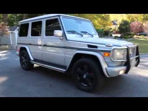 2008 Mercedes Benz G500 G Wagon For Sale~One Owner~Rare Silver~Low Miles