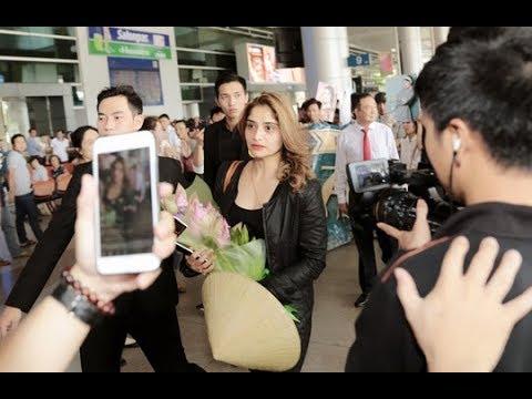 """Nữ diễn viên xinh đẹp trong """"Bí mật người thừa kế"""" đến TP HCM [Tin mới Người Nổi Tiếng]"""