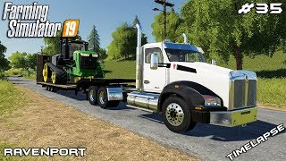 New John Deer tractor | Animals on Ravenport | Farming Simulator 19 | Episode 35