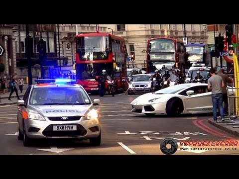 Arab Supercars vs The Police