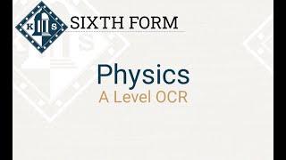 A Level Physics Induction