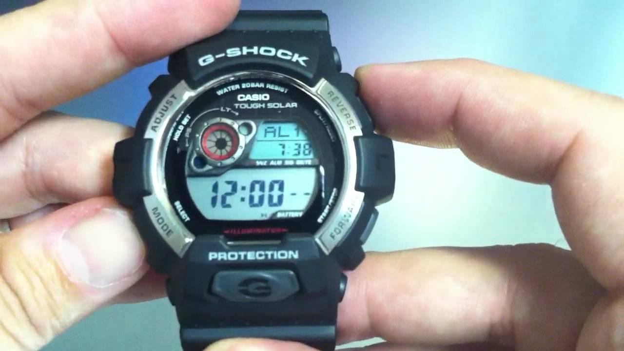 Casio g shock g 8900a инструкция