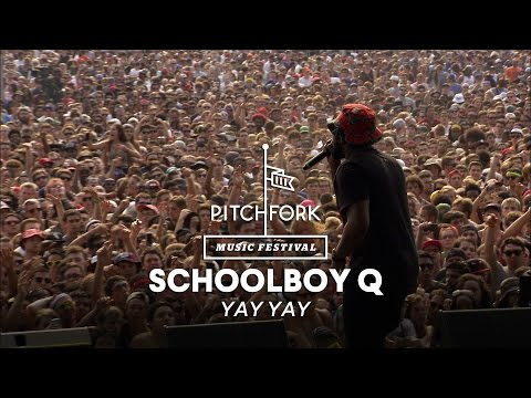 "Schoolboy Q performs ""Yay Yay"" - Pitchfork Music Festival 2014"
