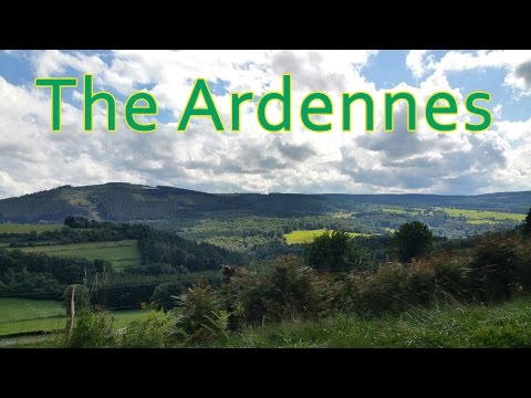 Road Trip to the Ardennes, Belgium | Kawasaki ZZR600 (Music)