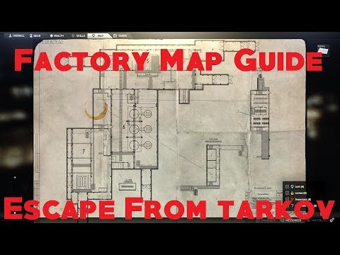 Full Download] Factory 101 Escape From Tarkov Map Guide