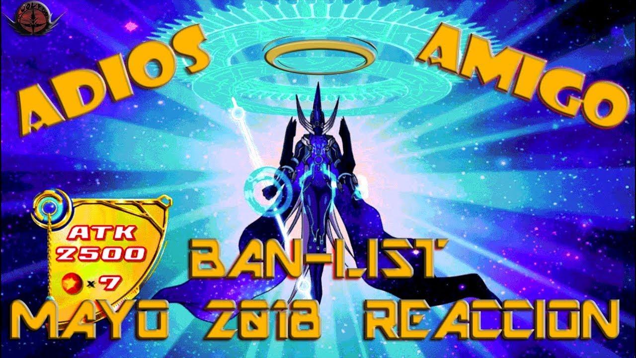 『BAN-LIST MAYO 2018 REACCIÓN DE E-WOLF』UNA VEZ MAS JODIDO!!! ADIÓS AMIGO :(   E-WOLF BOX