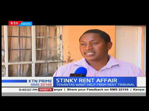Langata residents protest hike in rent charges in an estate in Langata