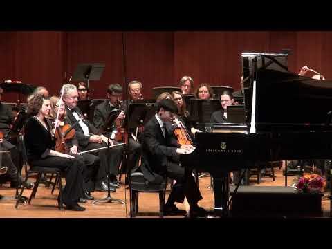 Andrew Li plays Beethoven Piano Concerto No. 3  Encore