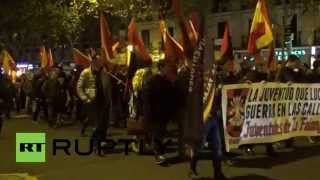 Spain: Falangists march through Madrid on anniversary of former leader