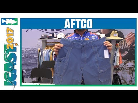 AFTCO M80 Stealth Fishing Shorts With Scott Martin | ICAST 2017
