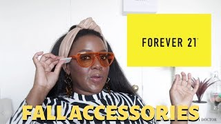 Fall 2019 Accessory Haul: Forever 21 Earrings + Sunglasses (Try-On)