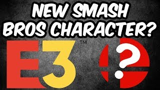 New Smash Bros Character!  Hopes/Predictions for E3