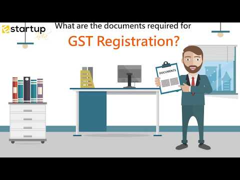 Documents requirement for GST registration
