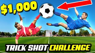 $1000 REAL LIFE ANIME Trick Shots Challenge (Pros Vs. Trick Shot Experts)