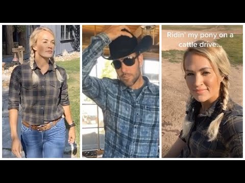 Carrie Underwood Celebrates 10th Wedding Anniversary At Wyoming Ranch