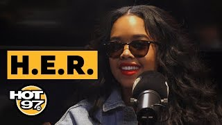 H.E.R. On Her Mysterious Persona, Thoughts On Nipsey Hussle's Passing + Working w/ Drake