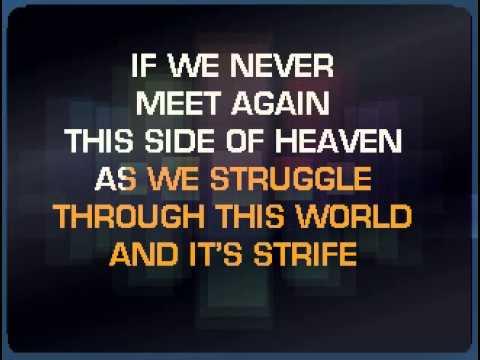 If We Never Meet Again by wilfred1973  SingSnap Karaoke