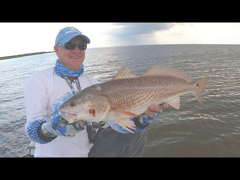 FOX Sports Outdoors SouthWEST #21 Sabine Pass Texas Redfish, Flounder, and Trout