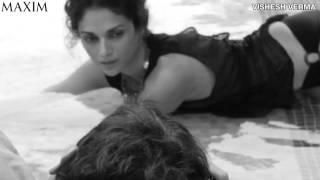 Aditi Rao Hydari most bold Exposing Topless bikini Photoshoot making HD