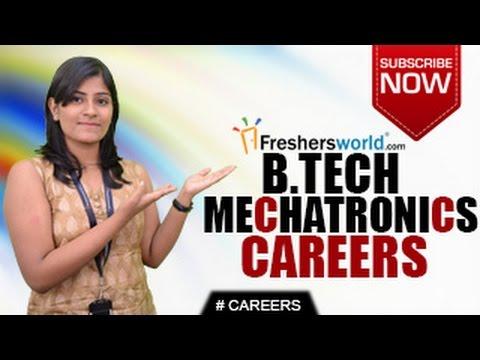 CAREERS IN MECHATRONICS ENGINEERING B E B Tech M Tech Entrance