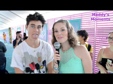 Nash Grier Interview at the 2016 Teen Choice Awards