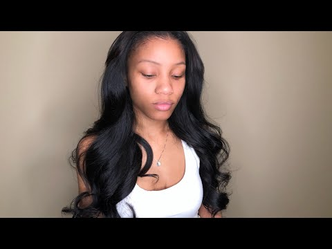 Itsdreamhair.com | Natural sew-in tutorial w/the BEST hair extensions