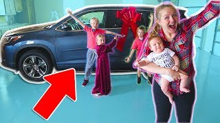 Agent E Gives Us A New Car! Garage Revealed Mr. E Mansion!