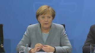 """Merkel rügt Schmidt: """"Das entsprach nicht der Weisungslage"""""""