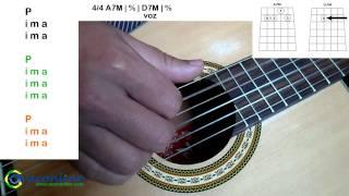 Batida Samba e Pagode - Simplificada no Violão (Fundo de Quintal-Nosso Grito)