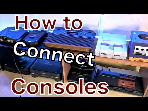 CONNECT Your GAME CONSOLES to HDTVs