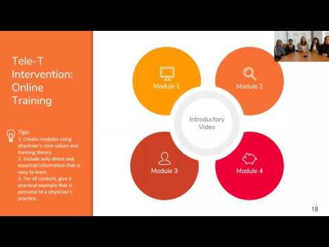 National TRC Webinar: Engaging Providers with Telehealth Technology