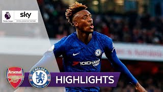 Chelsea dreht Derby nach Auba-Führung | FC Arsenal - FC Chelsea 1:2 | Highlights - Premier League