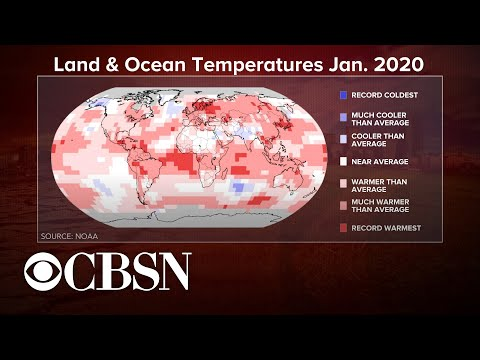 January 2020 Was Hottest On Record, While Antarctica Is Warmer Than It's Ever Been