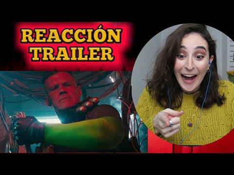 Deadpool 2 Meet Cable REACCIÓN AL TRAILER | Elena in Movieland🎬