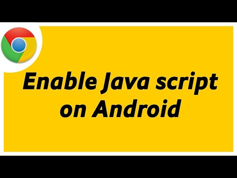 How To Enable Javascript In Google Chrome On Android |Turn On Java Script On Android