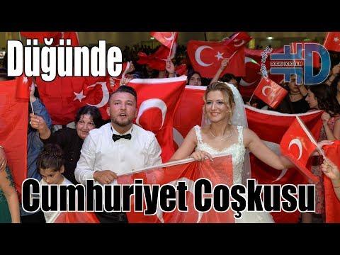 Düğünde Cumhuriyet Bayramı Coşkusu {--- www.dogrufilm.de ---}