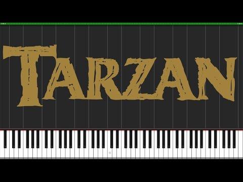 You'll Be In My Heart - Tarzan [Piano Tutorial] (Synthesia) // Wouter Van Wijhe