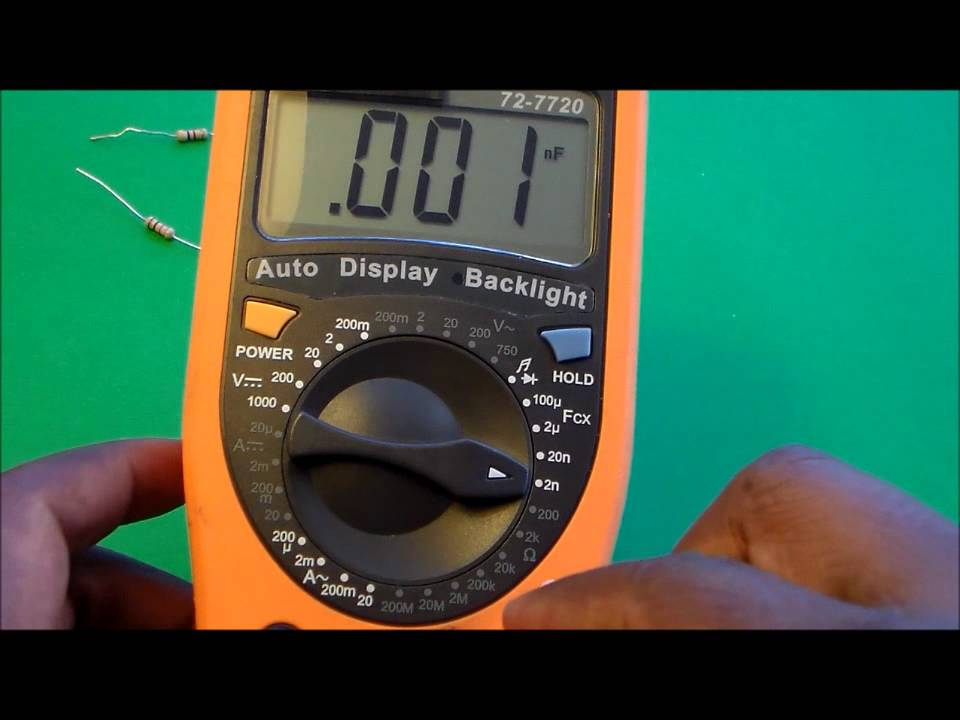how to use multimeter to test ppr