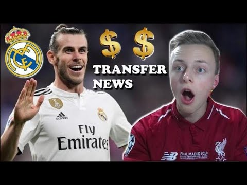 GARETH BALE TO LEAVE REAL MADRID | LIVE Transfer News Chat!