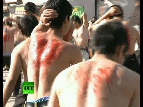 Graphic video: Shiites whip themselves bloody in Afghanistan