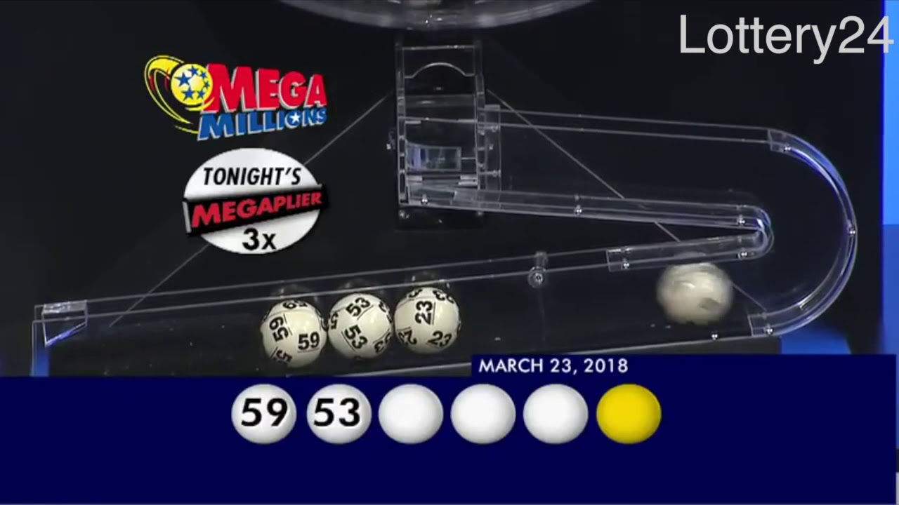 2018 03 23 Mega Millions Numbers and draw results - YouTube