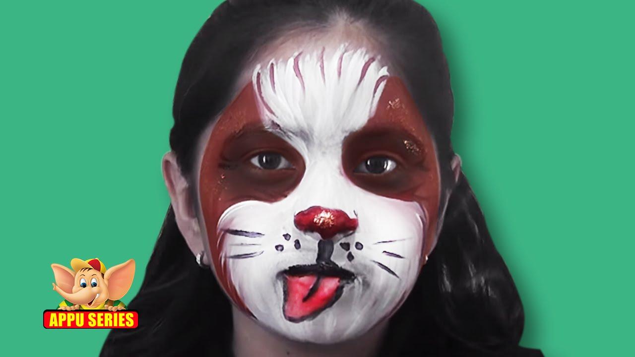 Uncategorized Face Painting Dog face painting paint a dog youtube