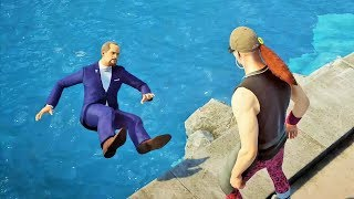 HITMAN 2 - Funny/Brutal Kills Montage | MIAMI (USA)