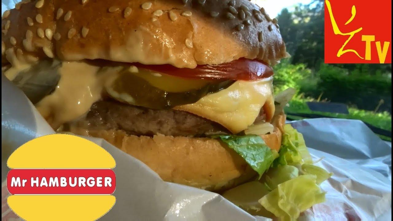 Najstarszy polski fast food - MR HAMBURGER PREMIUM i BEKON