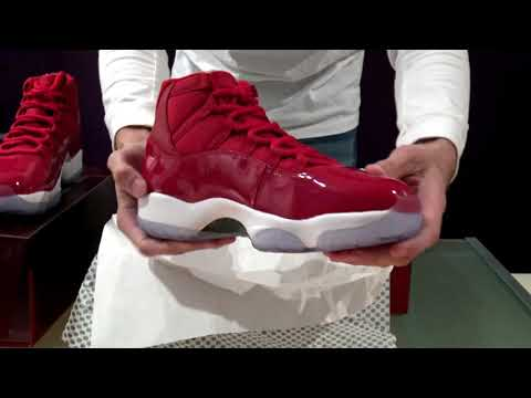 UNBOXING Air Jordan 11 Gym Red (Win Like '96)