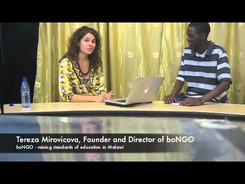 boNGO on Malawi TV (12nov2011)