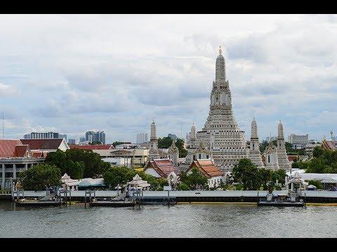 [4K] Walking around Wat Arun Temple or The Temple of Dawn, Bangkok