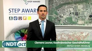 STEP Award 2016 iNDTact GmbH