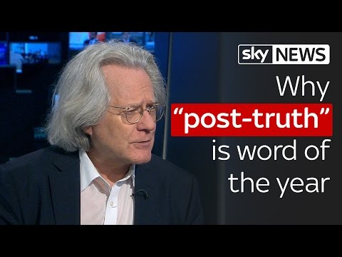 "Why ""post-truth"" is word of the year 2016"